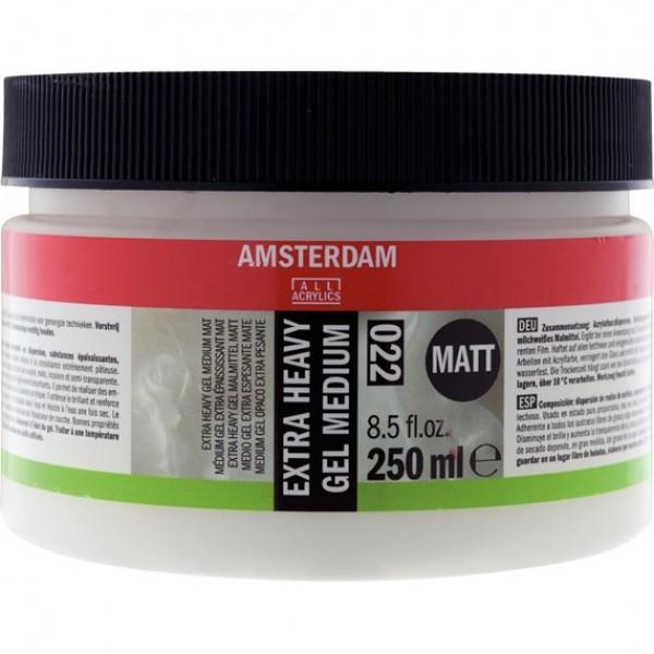 Biezs gēlveida mēdijs Amsterdam 022, 250ml Matēts