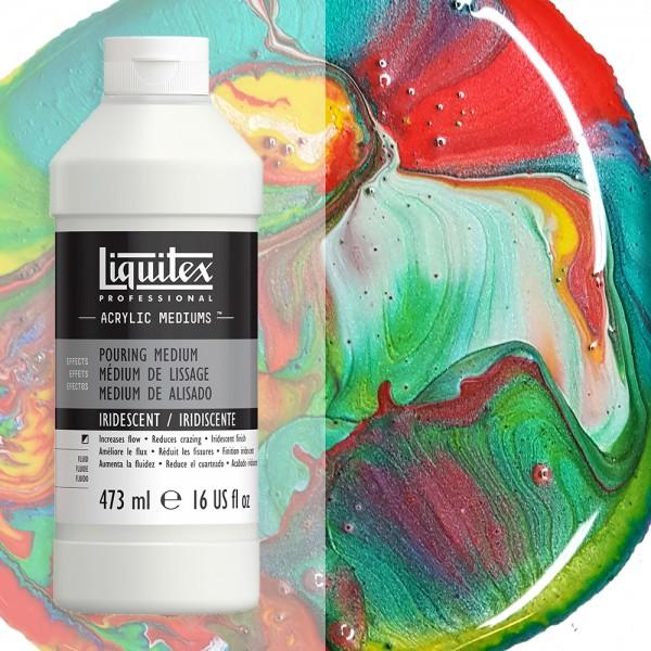 Škidrs Akrila mēdijs Liquitex Pouring Medium 473 ml  (high gloss )