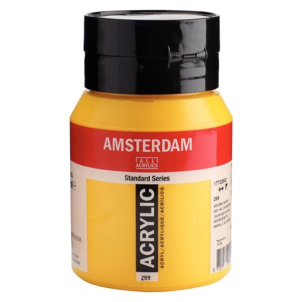 Akrila Krāsa Amsterdam  Azo yellow medium 269 ; 500 ml