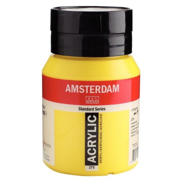 Akrila Krāsa Amsterdam  Primary yellow  275 ; 500 ml