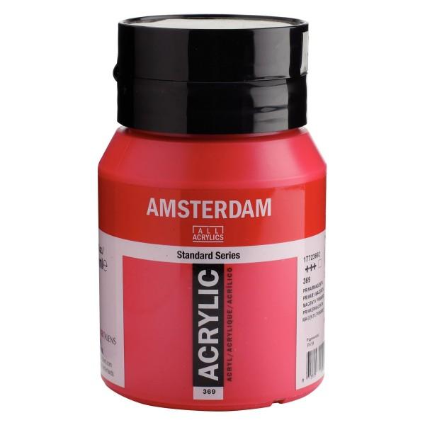 Akrila Krāsa Amsterdam  Primary Magenta 369 ; 500 ml