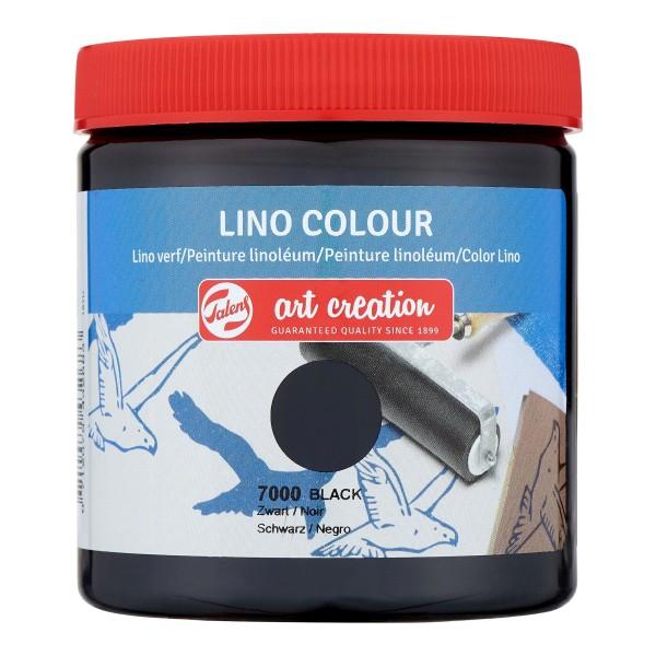 Grafikas krāsa Art Creation ''Lino Colour'' 250 ml; Melna Nr. 7000