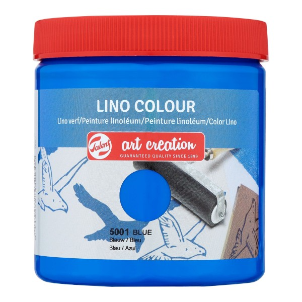 Grafikas krāsa Art Creation ''Lino Colour'' 250 ml; Zila Nr. 5001