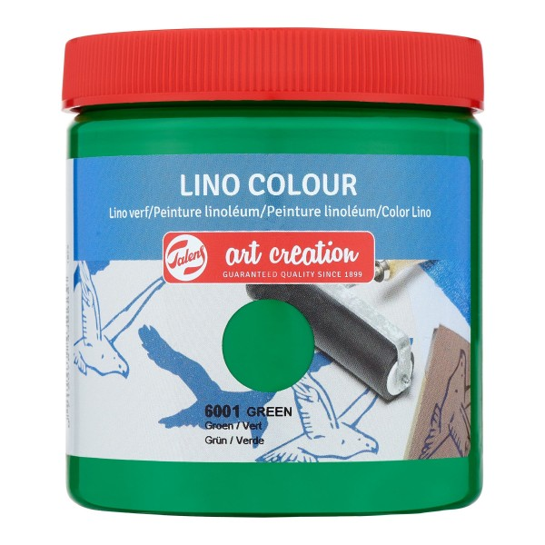 Grafikas krāsa Art Creation ''Lino Colour'' 250 ml; Zaļa Nr. 6001