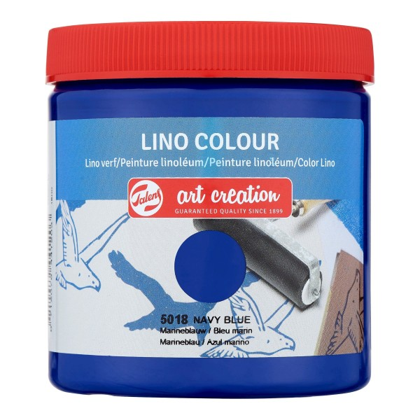 Grafikas krāsa Art Creation ''Lino Colour'' 250 ml; Tumši Zila Nr. 5018