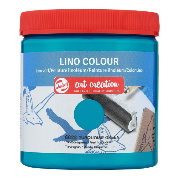 Grafikas krāsa Art Creation ''Lino Colour'' 250 ml; Tirkīzs Nr. 6026