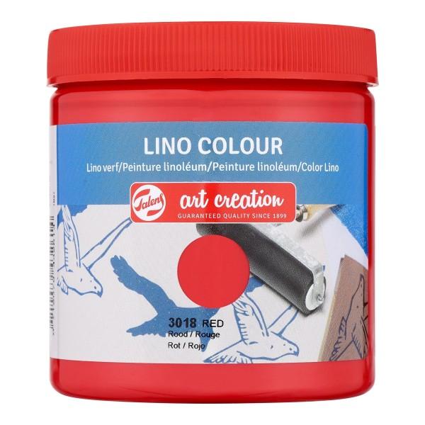 Grafikas krāsa Art Creation ''Lino Colour'' 250 ml; Sarkans Nr. 3018