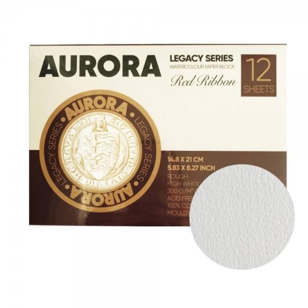 Akvareļu albums Aurora A5 horizontāls , 100 % kokvilna, rough