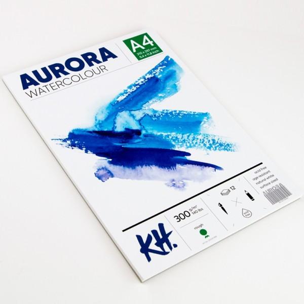 Akvareļu albums Aurora A4 ; rough