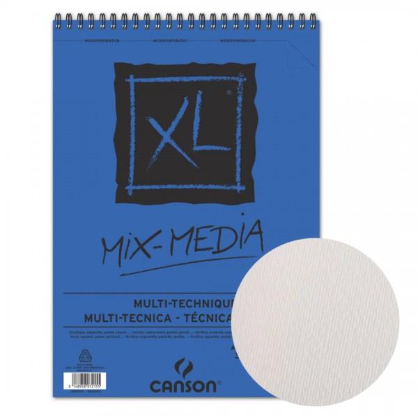 Albums Canson XL Mix-Media A2  ar spirāli