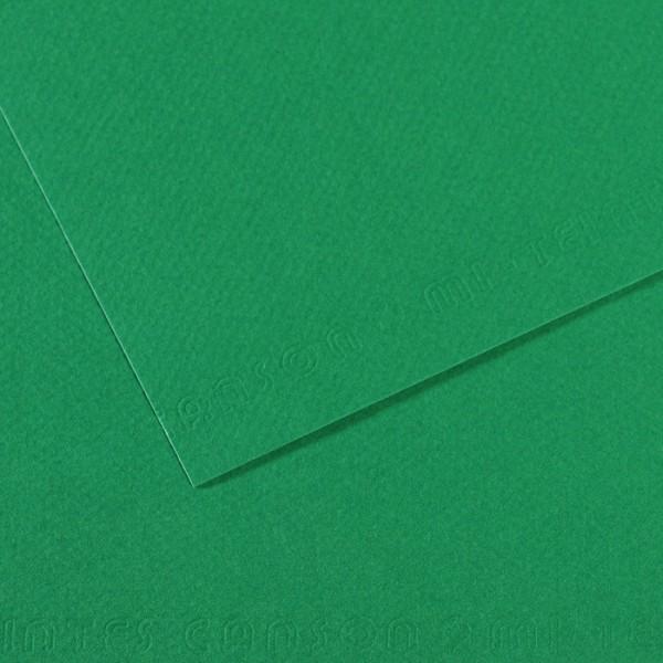 Pasteļpapīrs MT Canson A4, 575 viridian