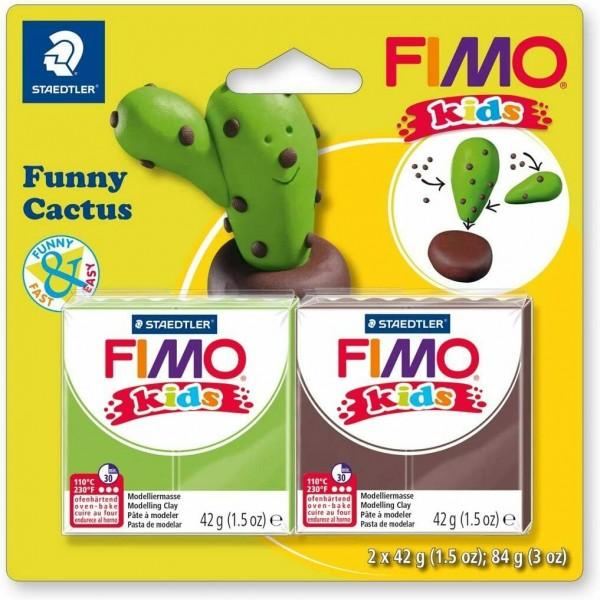 FIMO KIDS veidošanas komplekts '' Funny Cactus''
