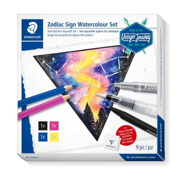 Akvareļu komplekts Zodiaka zīme Staedtler '' Zodiac Sign Watercolour Set''