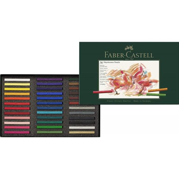 Sausie Pasteļi ''Faber Castell Polychromos'' 36 krāsas