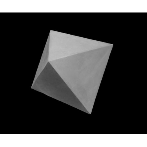 Ģipša figūra- oktaeder