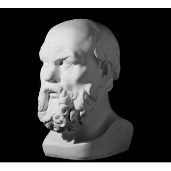 Ģipša galva Sokrāts