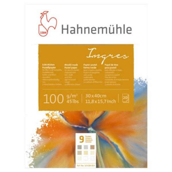Pasteļu papīrs Hahnemuhle Ingres 30x40cm, 100gr/m