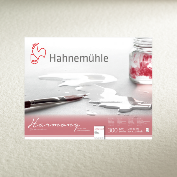 Akvareļu albums Hahnemuhle Harmony 29.7x42cm (cold pressed)