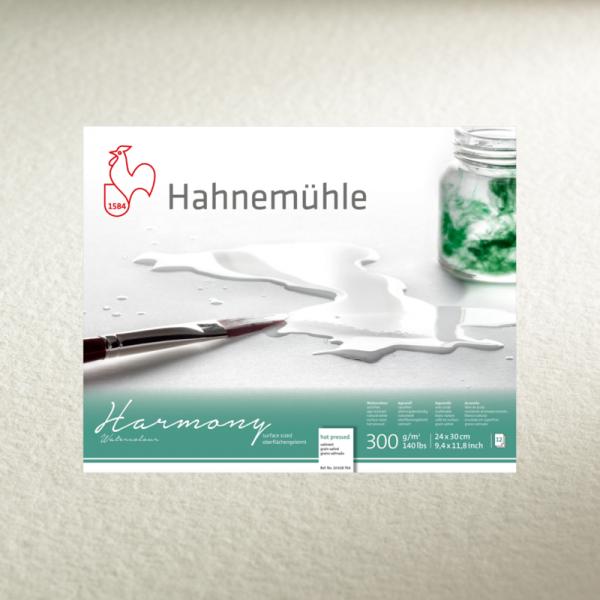 Akvareļu albums Hahnemuhle Harmony 29.7x42cm (hot pressed)