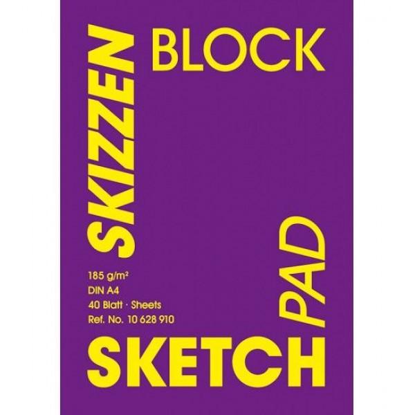Albums Hahnemuhle Skizzen Block A4 185 GR/M
