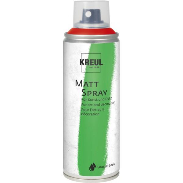 KREUL Matt Spray Aerosolā Krāsa 200 Ml; Tumši  Sarkans Nr. 76315