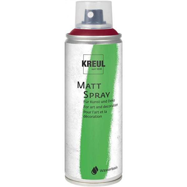 KREUL Matt Spray Aerosolā Krāsa 200 Ml;  Vīna Sarkans  Nr. 76316