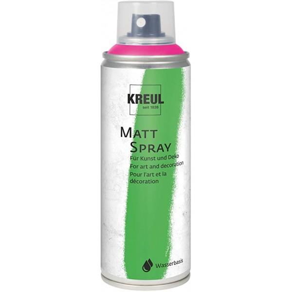 KREUL Matt Spray Aerosolā Krāsa 200 Ml;  Rozā Nr. 76317