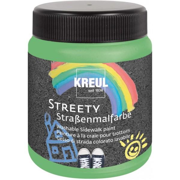 KREUL  nomazgājama asfalta krāsa'' Streety'' 200 ml; zaļa