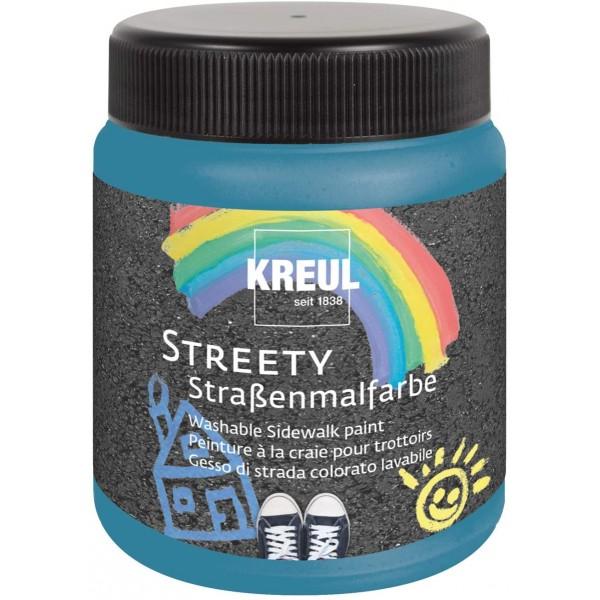 KREUL  nomazgājama asfalta krāsa'' Streety'' 200 ml; zila