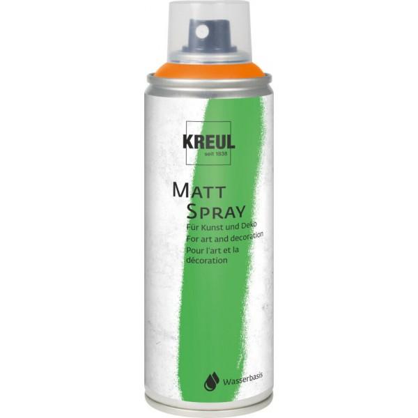 KREUL Matt Spray Aerosolā Krāsa 200 Ml; Oranžs  Nr. 76313