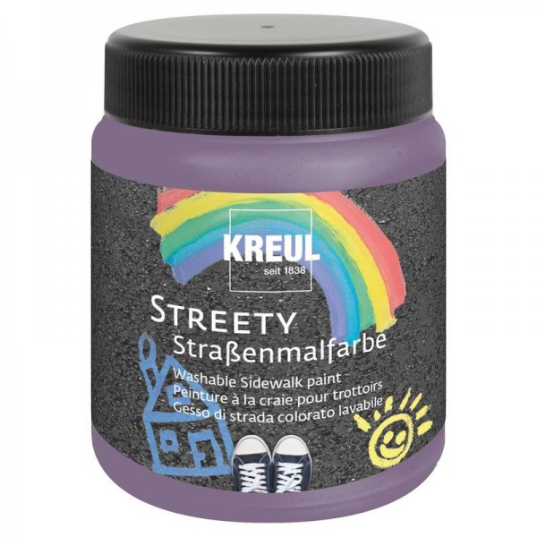 KREUL  nomazgājama asfalta krāsa'' Streety'' 200 ml; violets