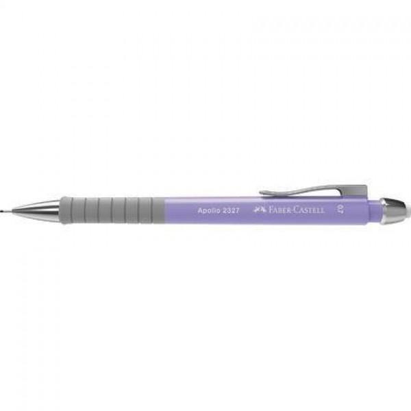 Mehāniskais zīmulis Faber Castell Apollo 2327, 0.7mm, violets