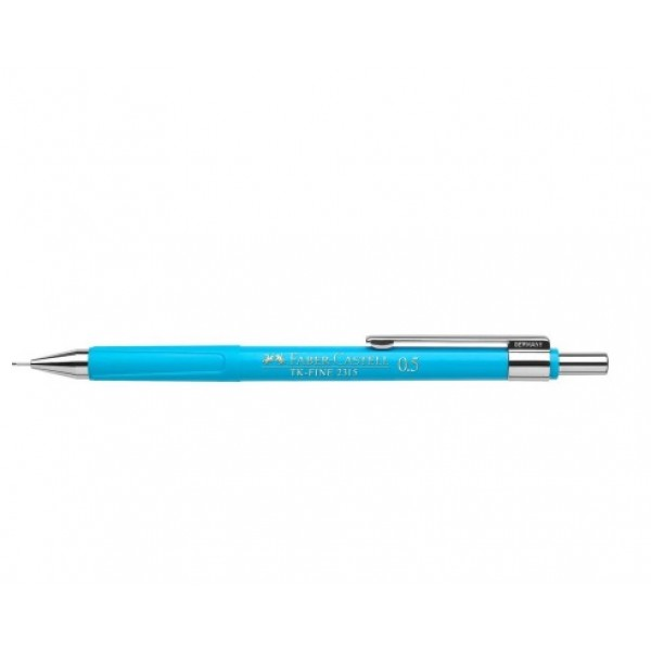 Mehāniskais zīmulis Faber Castell TK-Fine  2315, 0.5 mm, gaiši zils