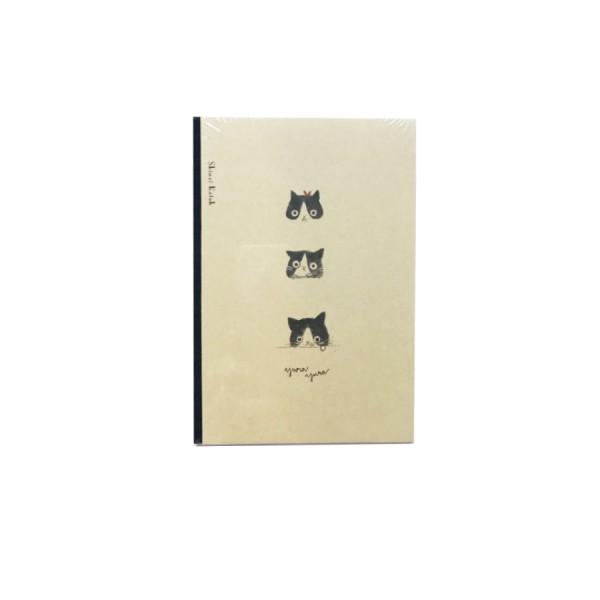 Klade cietos kartona vākos M&G ''Miao'' 12.5x18.5cm, 96 lapas
