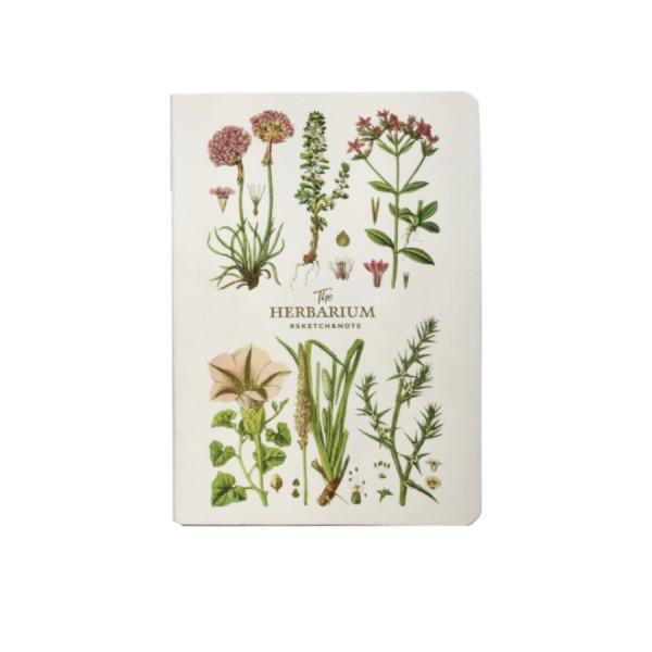 A5 Klade ''The Herbarium'' elastīgos vākos; 64 lapas, 120 gr/m