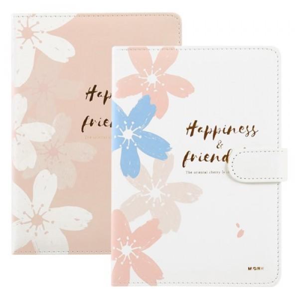 A5 Klade M&G ''Happiness & Friends'' , rozā