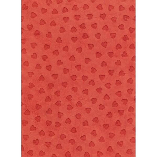 Nepālas papīrs  A4  Sarkanas sirsniņas