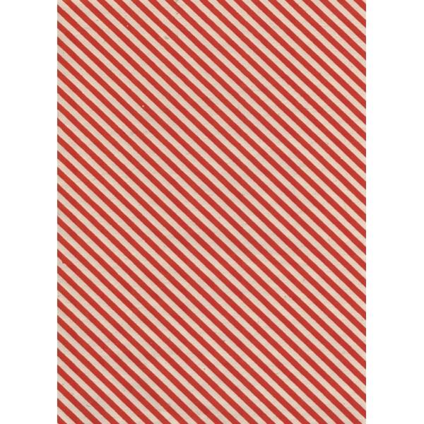 Nepālas papīrs  A4  Sarkanās krāsas fons ar  zelta strīpām