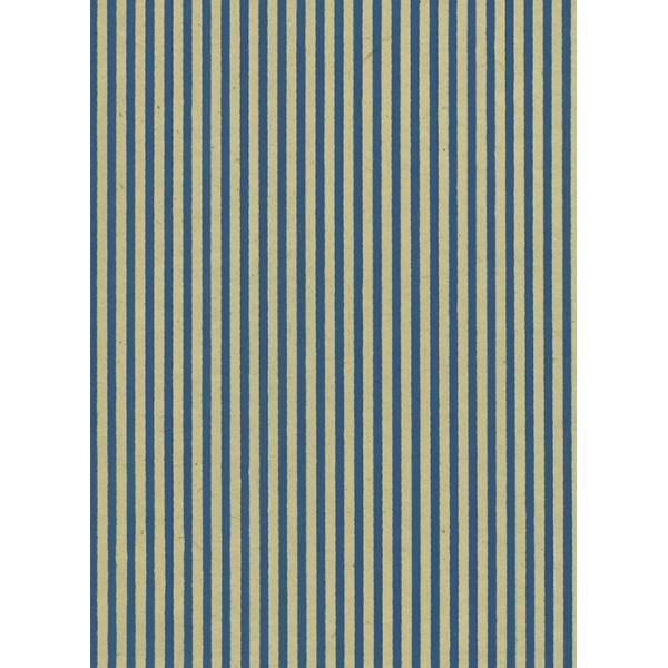 Nepālas papīrs  A4  Bēšas krāsas fons ar zilām strīpām