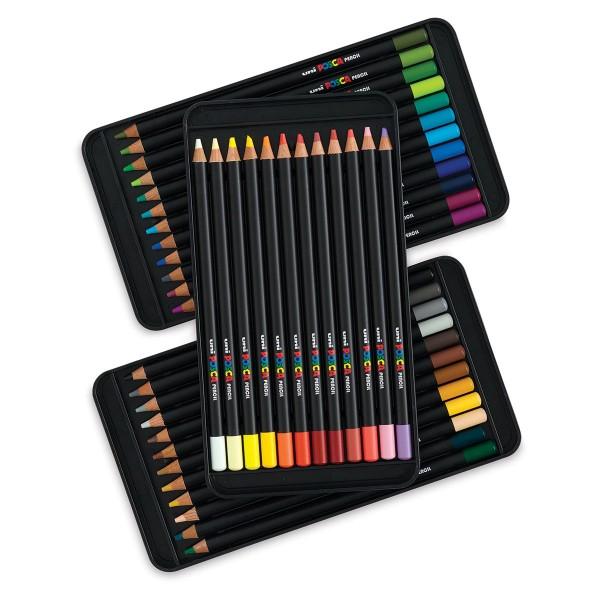Krāsainie zīmuļi POSCA 36 krāsas