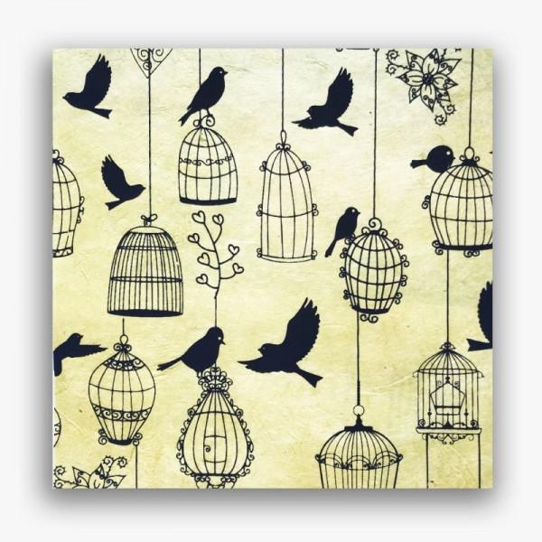 Nepālas papīrs A4 Putnu Būrītis
