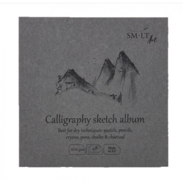 Albums SMLT Layflat Calligrpahy 14x14cm,