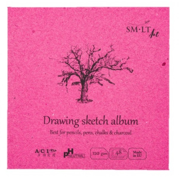 Albums SMLT Layflat Drawing 14x14cm,