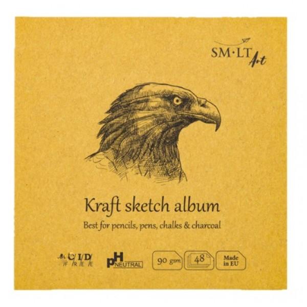 Albums SMLT Layflat Kraft 14x14cm,