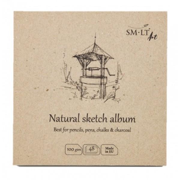 Albums SMLT Layflat Natural 14x14cm,