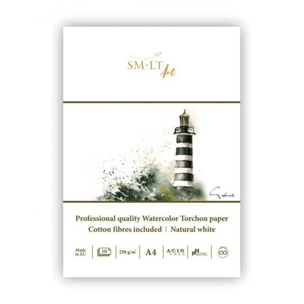 Akvareļu albums SMLT PRO Torchon A3