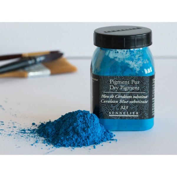 Sausais pigments Sennelier 180gr Cerulean Blue Hue 323