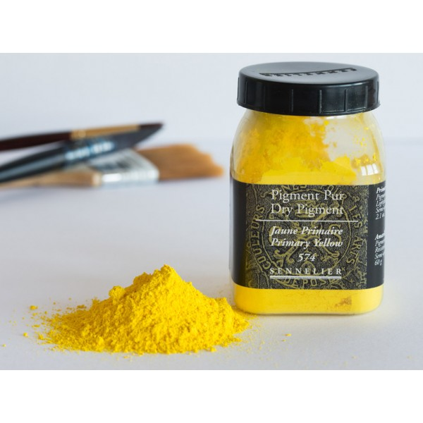 Sausais pigments Sennelier 60gr  Primary Yellow 574
