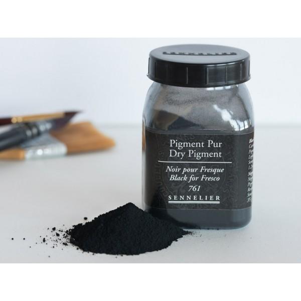 Sausais pigments Sennelier 35 gr Black for Fresco