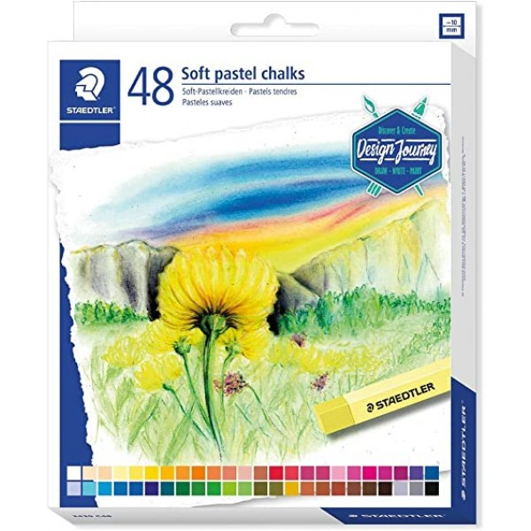 Sausie pasteļi Staedtler Design Journey, 48 krāsas